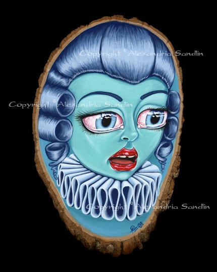 Bluepompadour